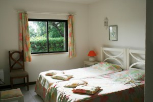 2nd bedroom Double or as 2 single beds